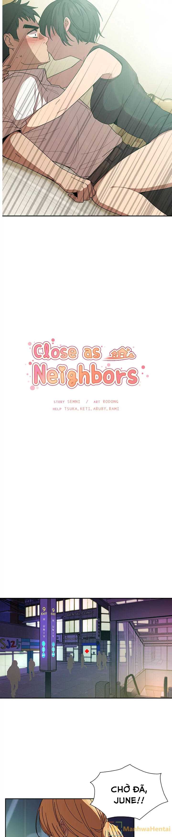 Close as neighbors chap 18 - Trang 3